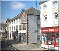 SH5638 : Shops opposite the Police Station by Eric Jones