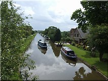 SJ8316 : Canalside Property by John M