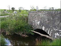 NX7168 : Bridge on A713 & junction with road to Corsock by John Whelan
