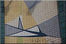 J3474 : Transport House, Belfast (detail) by Albert Bridge