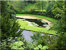 SE2768 : Studley Royal, water garden by Chris Gunns
