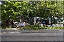 NS2587 : Faslane Peace Camp by George Rankin