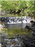 NM9548 : Dam across the Glenstockdale Burn by Stephen Whittaker and Katharine Oakeshott