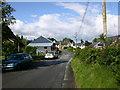 SH7718 : Roman Road entering Brithdir by liz dawson