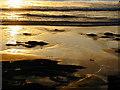 SM8513 : Little Haven beach evening light by Chris Gunns