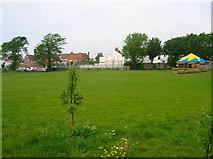 TQ2804 : School Field, St Andrews Primary School by Simon Carey
