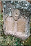 NG5536 : Tombstone on Raasay commemorating two German prisoners of war by Euan Nelson