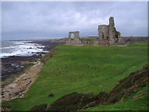 NO5101 : Newark Castle, near St Monans by Euan Nelson