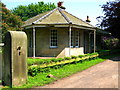 NU1824 : Gate Lodge of Doxford Hall by Lisa Jarvis