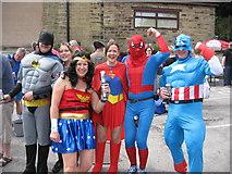 SD9906 : Super heroes in Dobcross by Paul Anderson