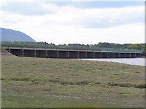 SD0894 : Railway bridge over the Esk by N Chadwick
