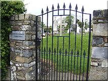 N9869 : Cemetery gate, Knockcommon by Jonathan Billinger