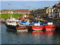 NU2232 : Seahouses Harbour by Lisa Jarvis