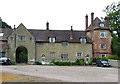 SO6799 : Inside the Courtyard, Willey, Shropshire by Roger  Kidd