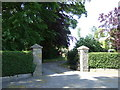 NZ1217 : Entrance to Newsham Hall by Stanley Howe