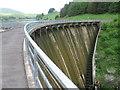 NO0002 : Castlehill reservoir dam by Chris Wimbush