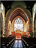 NY3704 : Interior of The Parish Church of St Mary's, Ambleside by Alexander P Kapp
