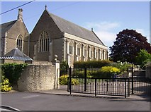 ST6834 : King's School, Bruton by Graham Horn