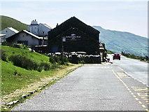 NY4008 : Coach park and the Kirkstone Pass Inn by Alexander P Kapp