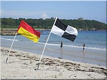 SW8031 : Gyllyngvase Beach, Falmouth by Kenneth  Allen