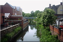 SJ9223 : The River Sow, Stafford by Stephen Pearce