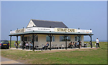 NZ6124 : The Stray Cafe (rebuilt) by George Robinson