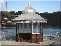 SH5873 : Bangor Pier Detail by Trevor Rickard