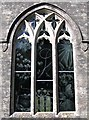 SY8089 : Engraved glass window, Moreton church by E Gammie