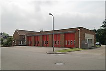 ST1580 : Whitchurch Fire Station by Kevin Hale