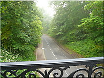 TA1181 : Filey - View from Footbridge leading to St Oswald's Church by Alan Heardman