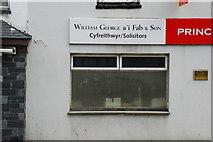 SH5638 : William George Cyfreithwyr/Solicitors by Alan Fryer