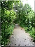 SD7714 : Start of Kirklees Trail, Greenmount by liz dawson
