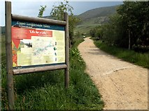 SK0698 : The track from Torside Car Park to the trail by John Fielding