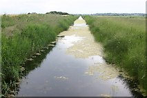TQ9728 : Drainage Ditch by Mark Duncan