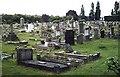 TQ5486 : Hornchurch Cemetery by John Myers