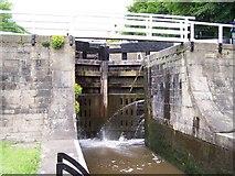 SE1039 : Lock gate, Five Rise Locks, Bingley by Joe Regan
