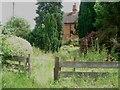 SO9272 : Front garden of Highwood Cottage by Trevor Rickard
