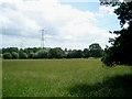 SO9071 : Pylons near Durrance Farm by Trevor Rickard