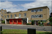 TQ2160 : Epsom fire station by Kevin Hale