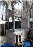 TL3706 : St Augustine, Broxbourne, Herts - Tomb chest by John Salmon