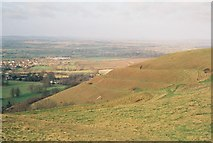 ST8412 : The slopes of Hambledon Hill: what a view! by Chris Downer