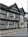 SO7137 : Black and White house, New Street, Ledbury by Pauline E