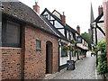 SO7137 : Cobbled Church Street, Ledbury by Pauline E