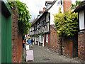 SO7137 : Lower Church Lane, Ledbury by Pauline E