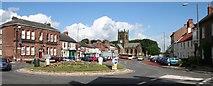 SE3694 : Floral Roundabout by Bob Embleton