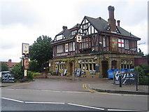 TQ2087 : Kingsbury: The George Public House, Church Lane, NW9 by Nigel Cox