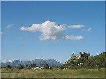 SH5831 : Harlech Castle by Peter Humphreys