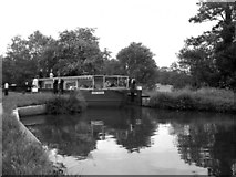 SU9946 : 'Harry Stevens' at Unsted Lock, River Wey, Surrey by Dr Neil Clifton