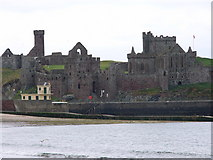 SC2484 : Peel Castle and St German's Cathedral by Chris Gunns