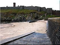 SC2484 : Peel , Fenella Beach and castle by Chris Gunns
